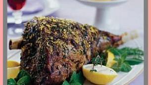 Leg Of Lamb With Lemon Sauce