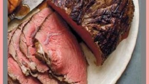 Very Slow Oven Roasted Beef