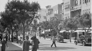Allenby Street, 1930's