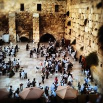 A sweeping view of the Kotel.  Photo by Avi Mayer