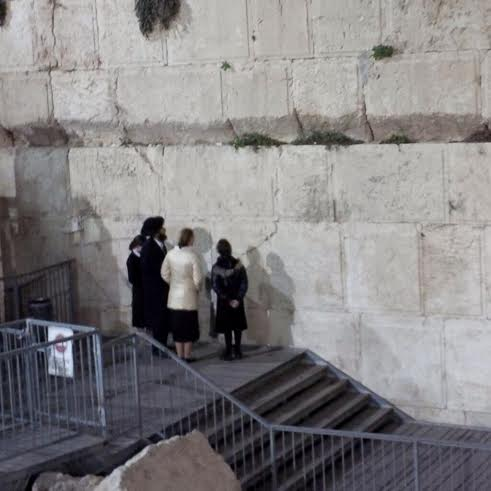 At the pluralistic Kotel. Photo by William Daroff.