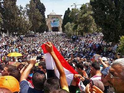 Muslim Brotherhood rally on Temple Mount