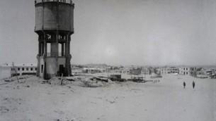 Water tower in Tel Aviv, 1924