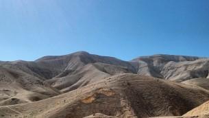 Judean Desert at Sea Level