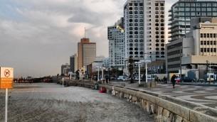 Tel Aviv beach morning