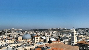 Old City from Tower of David