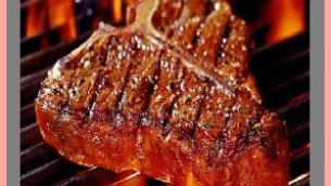 Grilled Kosher T-Bone Sesame Steaks