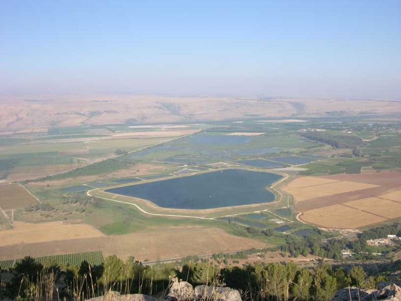 Epic stretch of Hula Valley