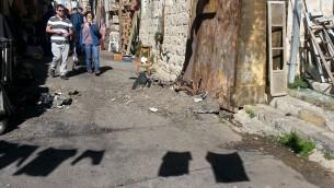 natalie portman destroyed street