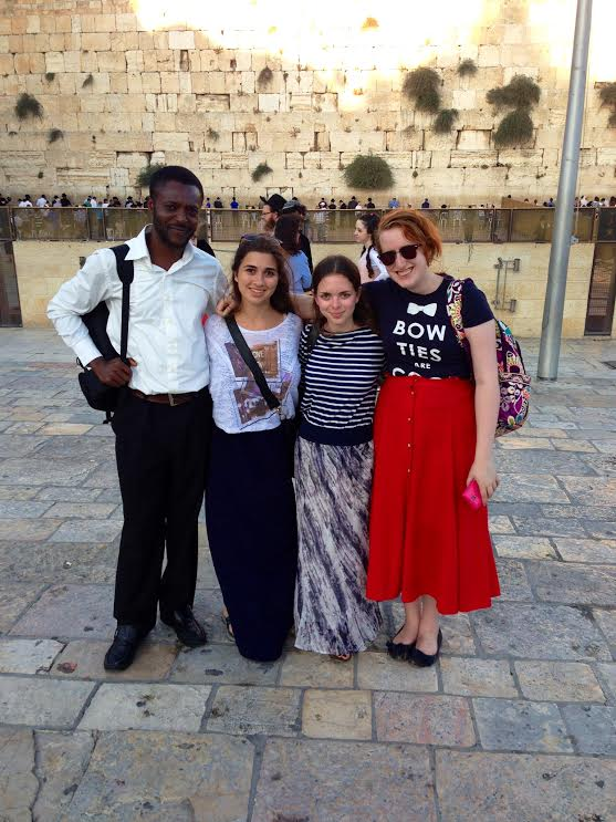 At the Western Wall. Submitted by Shanie Reichman