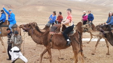 Amy Z. on Camel-back