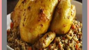 Chicken Stuffed with Rice Pilaf