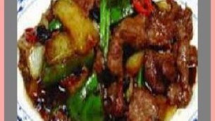 Kosher Sirloin Beef Tips with Green Peppers