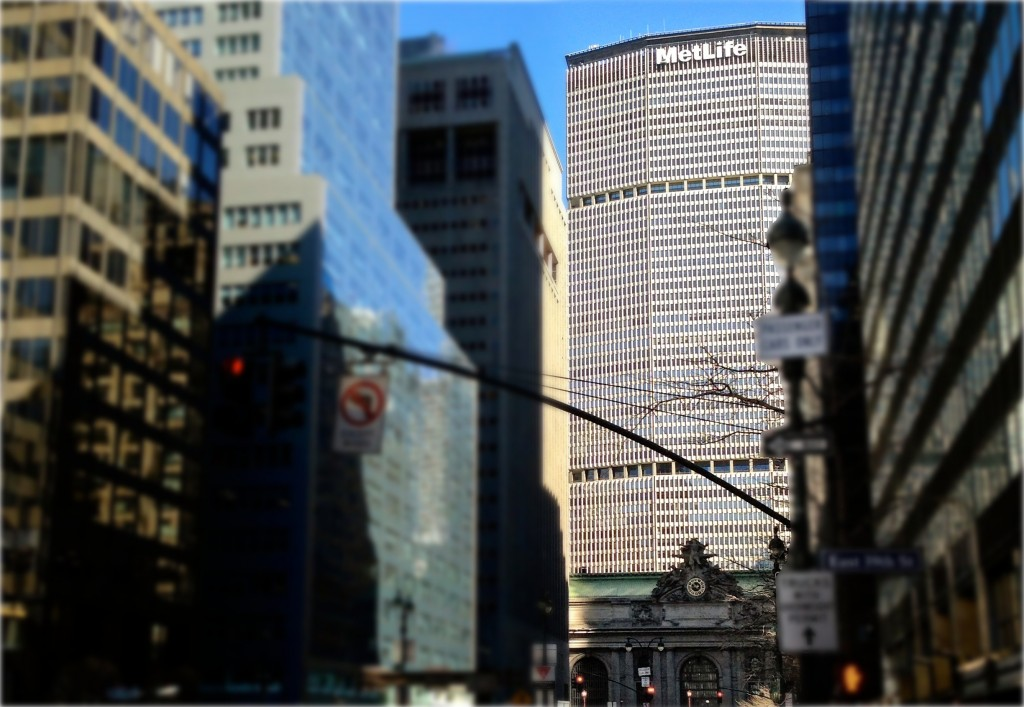 MetLife Building above Grand Central Terminal, New York,  - Photo Credit: Brian of London