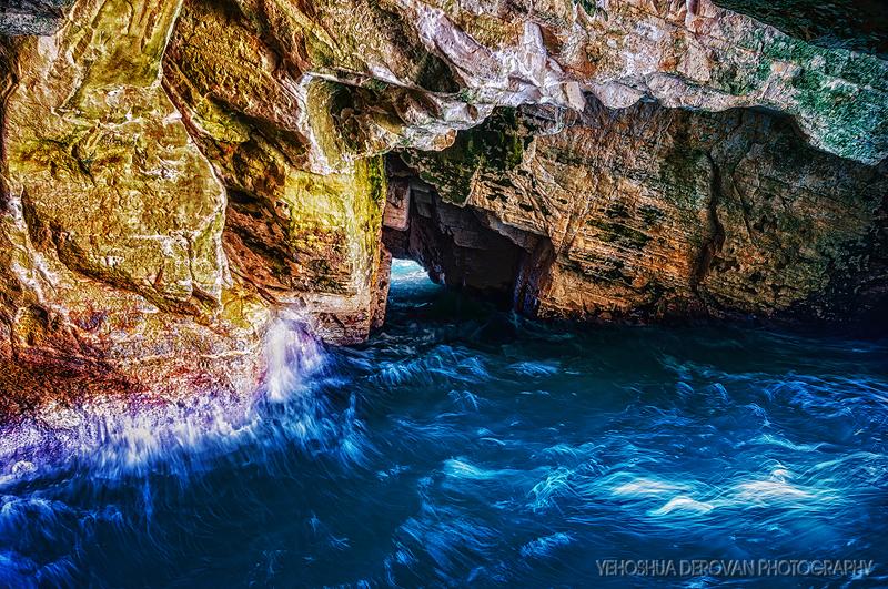 Rosh Hanikra Grottoes Photo by Yehoshua Derovan