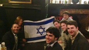 Where else to meet Rabbi Boteach? The pub of course...