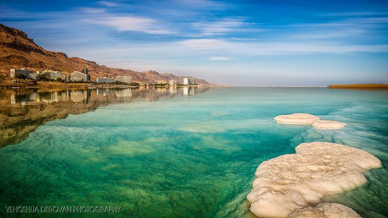 The Dead Sea  Photo by Yehoshua Derovan
