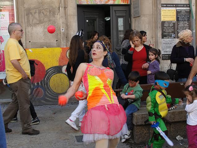 Juggling Photo by Judy Lash Balint