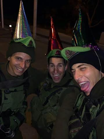 IDF soldiers know how to party.
