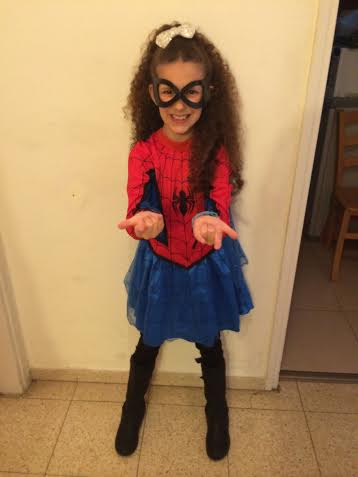 Spidergirl!  Photo by Yoni Cantor Wiseman