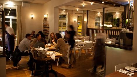 Tel Aviv's Aria Restaurant offers diners a view of Nahalat Binyamin's Bustling Nightlife