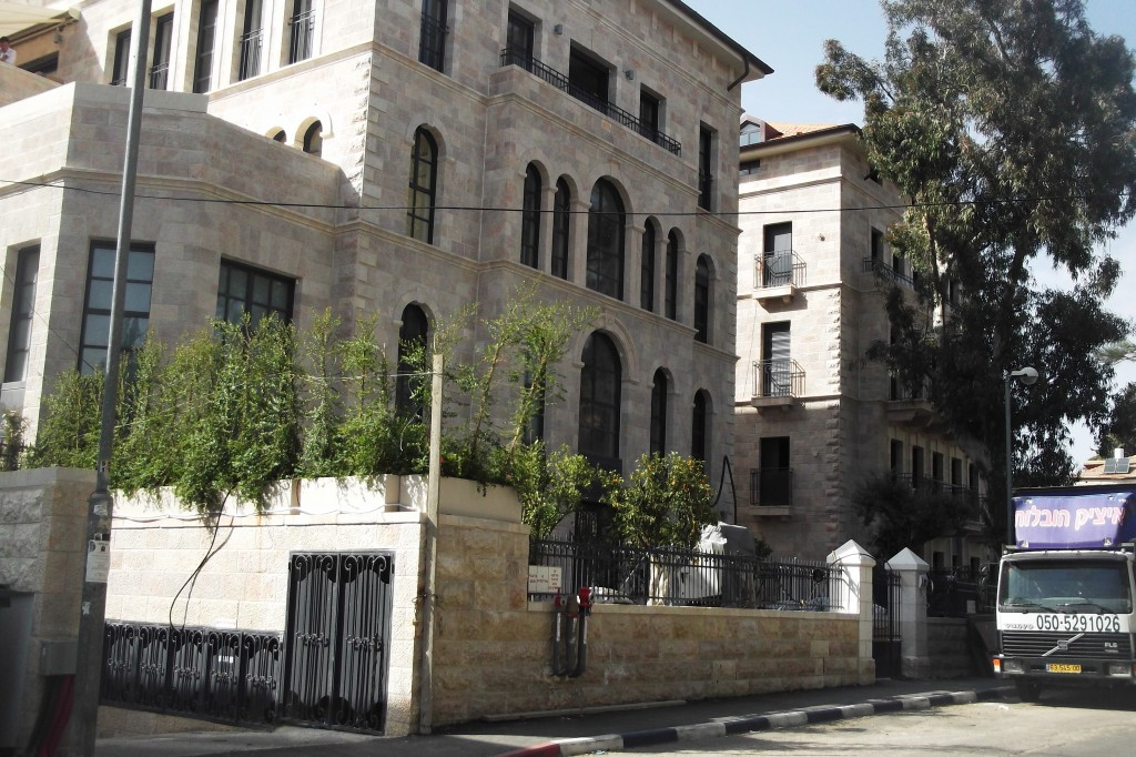 New residential project in German Colony, Jerusalem