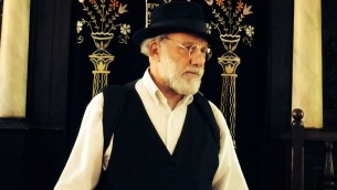 Rabbi Benji Levene at Achdut Yisrael Synagogue, where is now Rabbi, following in his Grandfather's footsteps