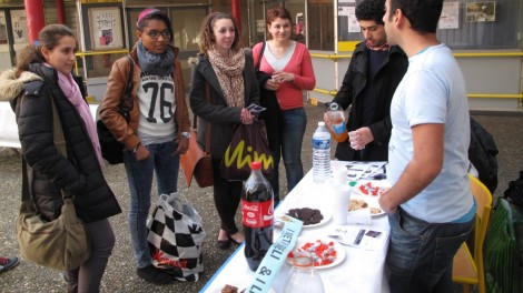 What Israel's activity at Lyon II University (Photo by Ido Daniel)