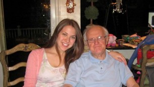 My grandpa and I a few years ago before he passed away at the age of 95. He was and is my hero!
