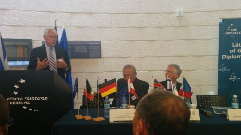 EU Ambassador Lars Faaborg-Andersen at Europe Day event at IDC