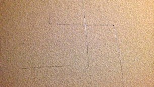 One of the nine swastikas found in my apartment complex.