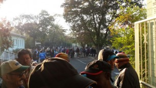 The opening of the polls in Johannesburg on Wednesday May 7th.