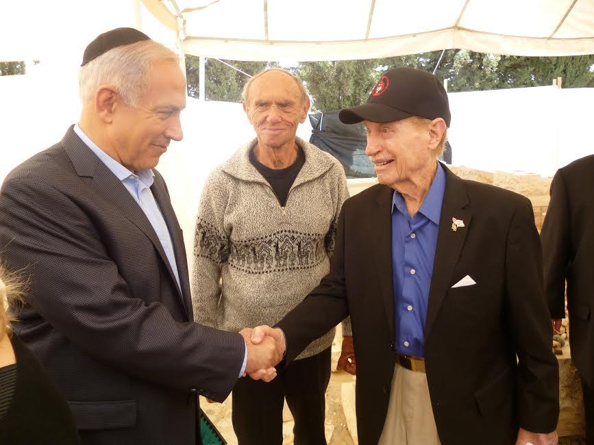 Mitch and PM Netanyahu