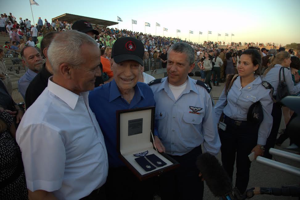 Mitch with Amir Eshel-Israel's current Air Force commander and former IAF commander Herzl Bodinger