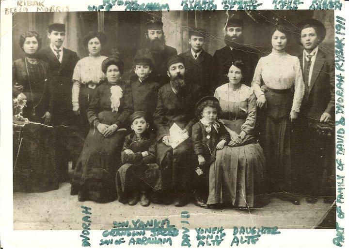 The Family of David & Devorah Rybak Siedlice, Poland 1911