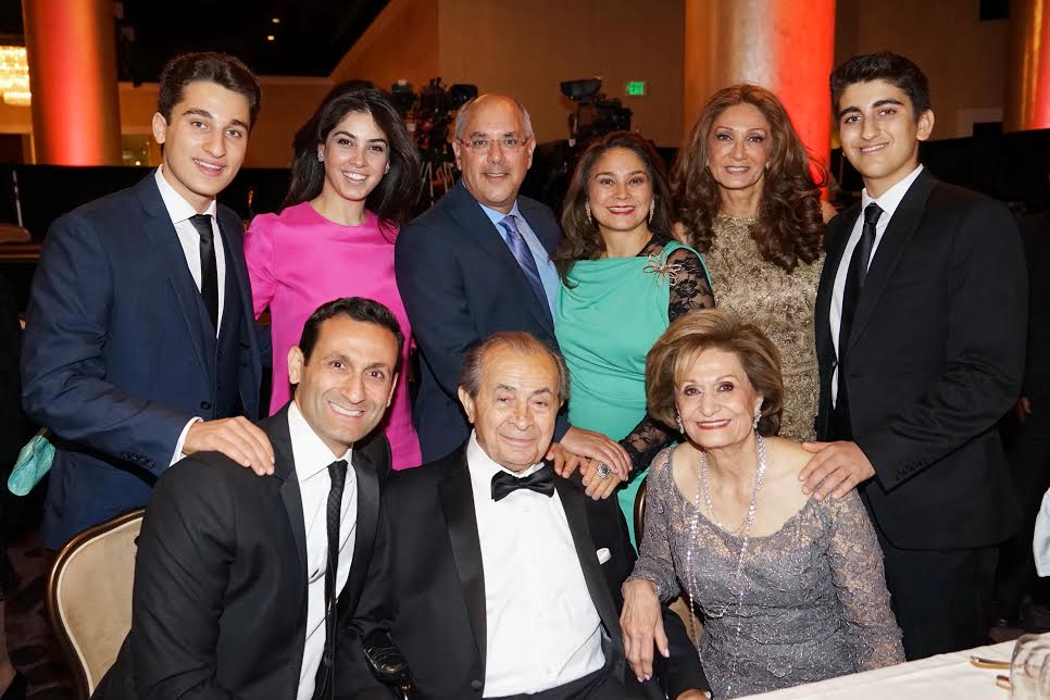 The philanthropic Nazarian Family-Photo Orly Halevy