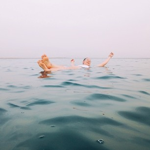 Carolina Peña (@misshedwig) Dead Sea