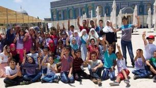 Arab Children Promoting Kidnapping