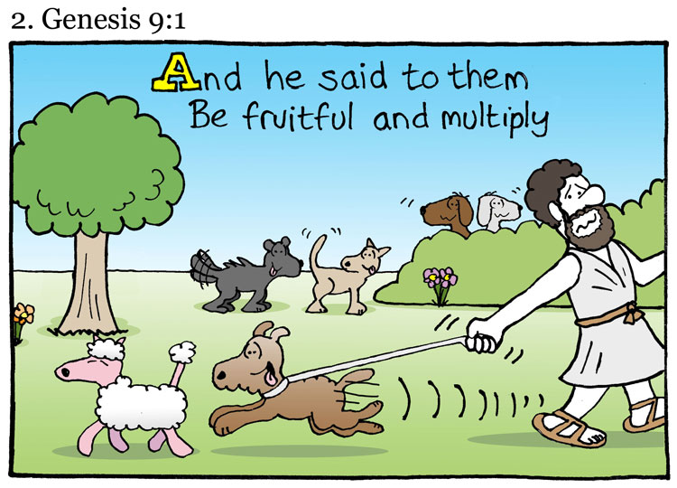 7 Quotes From The Dogs Version Of The Bible | The Cartoon ...