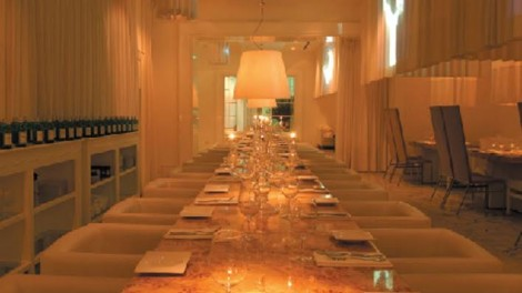Messas All White Dining Room