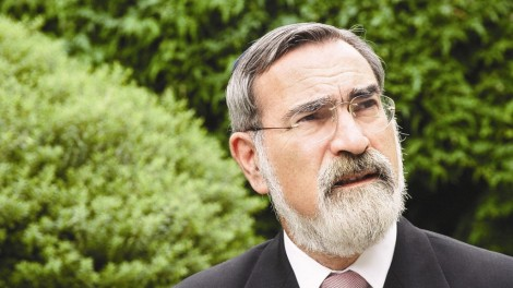 Rabbi Lord Sacks (credit: United Synagogue)