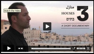 """Three Houses"""": Life beyond the Separation Barrier in Jerusalem""""."""