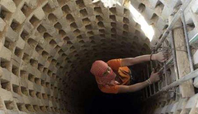 A Tunnel in the Gaza Strip