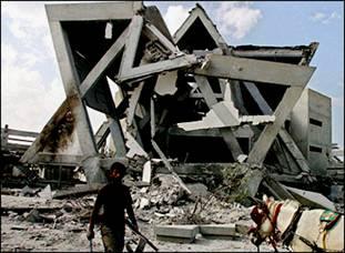 Destroyed Synagogue