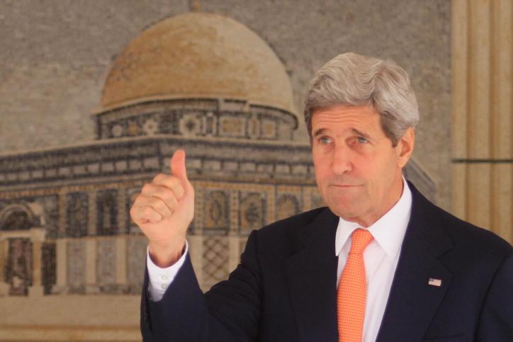 US Secretary of State John Kerry. (photo credit: Issam RImawi/FLASH90)