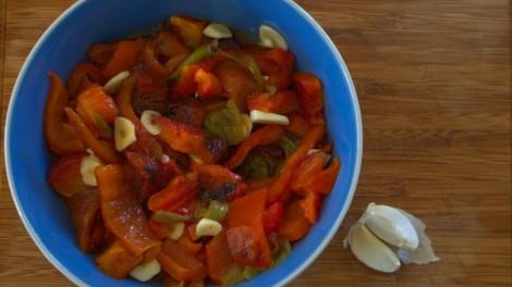 Roasted Pepper Salad (1)