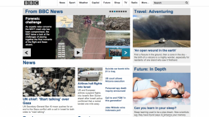 bbc.com front page, July 22, 2014