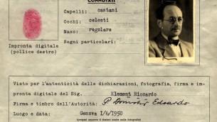 Eichmann argentinian passport