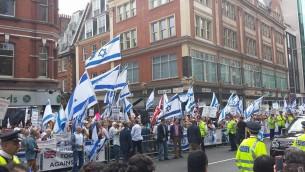 london dem pro israel