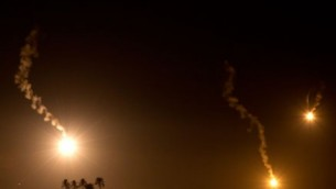 Iron Dome by Night